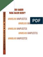 2012 Int. Tecnol. Guía de clase Aparejos
