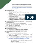 La Historia en El Curriculum de E. Primaria. 2011-2012
