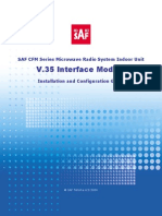 V35 Interface Installation-Configuration Guide