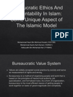 Bureaucratic Ethics and Accountability in Islam