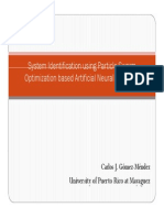 System Identification Using Particle Swarm Optimization Based Artificial Neural Networks
