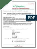 PV Newsletter - Volume 2012 Issue 1