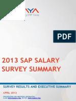 SAP Salary Survey 2013