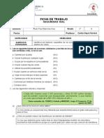 Ficha de Trabajo Seguridad Vial 2.0