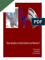 FACM_II - Aula 15 - Comportamento Mecanico