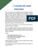 Flora y Fauna Del Mar Peruano