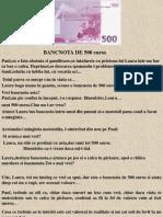 lBillete de 500 Euro
