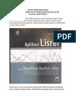 Buku Aplikasi Lisrel Untuk Penelitian Analisis Jalur