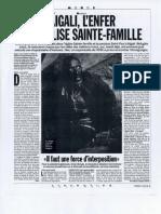 Kigali, l'enfer de l'église Sainte-Famille - Libération - 17 juin 1994 -