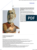 Did Modi Make Gujarat Vibrant - Rediff
