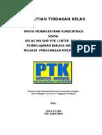 Contoh PTK Klien Cover