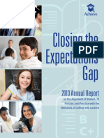Achieve 2013 Closing the Expectations Gap Report