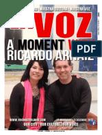 La Voz November 15 - December 15, 2013