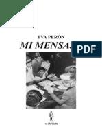 EVA PERÓN, MI MENSAJE (1)