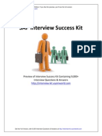 SAP Interview Success Kit
