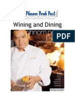 Cambodia Wining and Dining 2009
