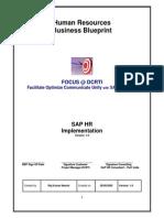 Sap Hr Business Blue Print