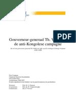 Gouverneur-Generaal Th. Wahis en de Anti-Kongolese Campagne