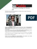 19-11-2013 Sexenio Puebla - Gerardo Islas Reconoce El Trabajo de Moreno Valle en Puebla
