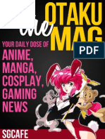 Gcafe Anime News for Otaku 2013 Issue