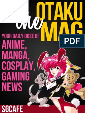 Gcafe Anime News for Otaku 2013 Issue | Leisure