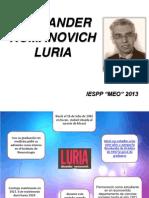 Aporte de Alexander Luria 11-11-13