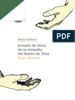 Dossier Jornadas Oleícolas 2013
