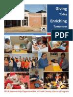 2014 CCLP Sponsorship Opportunities Handbook