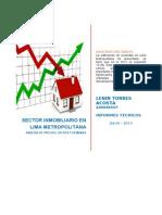 Sector Inmobiliario en Lima Metropolitana