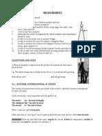 Measurement Notes 2013