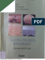 Calcul Numeric Ingineresc - Mediul Matlab
