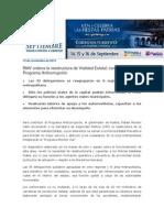 19-11-2013 Blog Rafael Moreno Valle - RMV ordena la reestructura de Vialidad Estatal; contribuye al Programa Anticorrupción