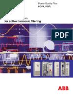 ABB PQF Harmonic Filtering