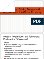 501ppt strategy for merger and acquisition