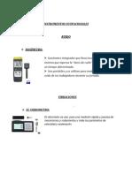 Instrumentos de Monitoreo Ambiental
