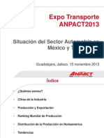 Expo Transporte ANPACT 2013