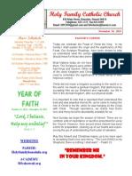 hfc november 24 2013 bulletin