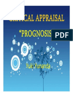 critical Appraisal 'Prognosis'