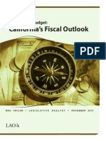 Fiscal Outlook 112013