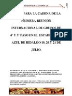 Notas Alabanceros Unidos a.c.