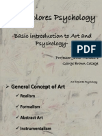 Introduction to Art & Psychology -2013
