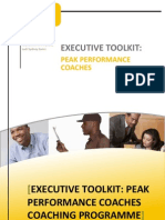Executive Coaching Brochure by Kayode Olufemi-Ayoola