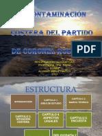 La contaminación costera del partido de Coronel Rosales