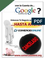 Cancelacion Google Adwords Recuperar Cuenta QAPTY452900