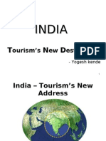 Tourism New Destination - India - Yogesh kende