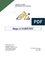 Rapport Stage Saretec