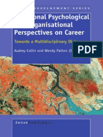 Vocational Psychological and Organizational Perspectives on Career