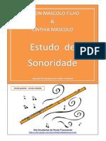 Estudo de Sonoridade. Nilson Mascolo & Cinthia Mascolo - Versão gratuita - rev2