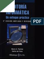 Piattini. Auditoria Informatica- Un Enfoque Practico
