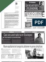 Versión impresa del periódico El mexiquense 20 noviembre 2013